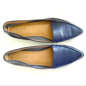 2/$20! J. Crew Edie Leather Loafers